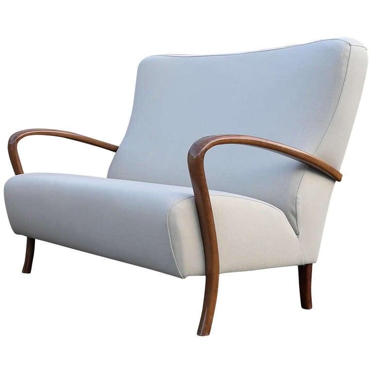Elegant Italian Furniture elegant italian two seater sofa for sale at 1stdibs