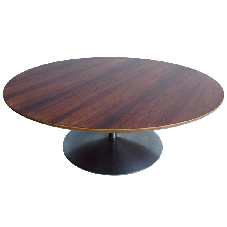 early pierre paulin artifort rosewood coffee table at 1stdibs. Black Bedroom Furniture Sets. Home Design Ideas