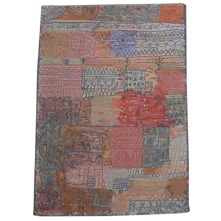 Paul Klee Art Rug Florentinisches Villenviertel At 1stdibs