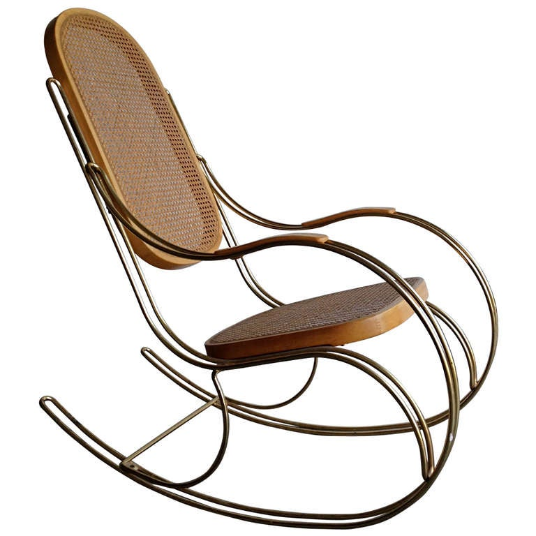 thonet style rocking chair. Black Bedroom Furniture Sets. Home Design Ideas
