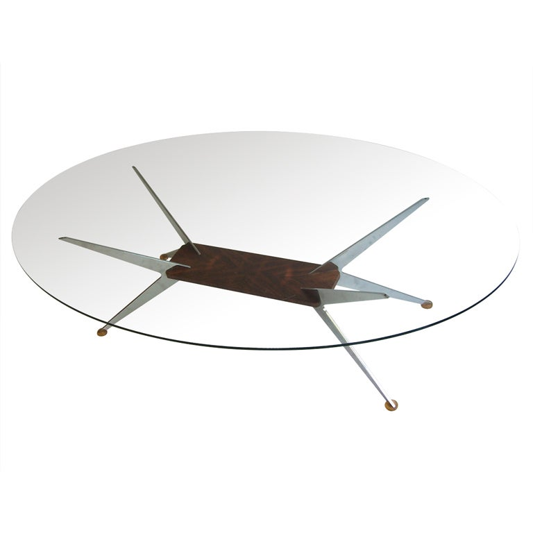 large coffee table by cor rheda wiedenbr ck 1967 at 1stdibs. Black Bedroom Furniture Sets. Home Design Ideas