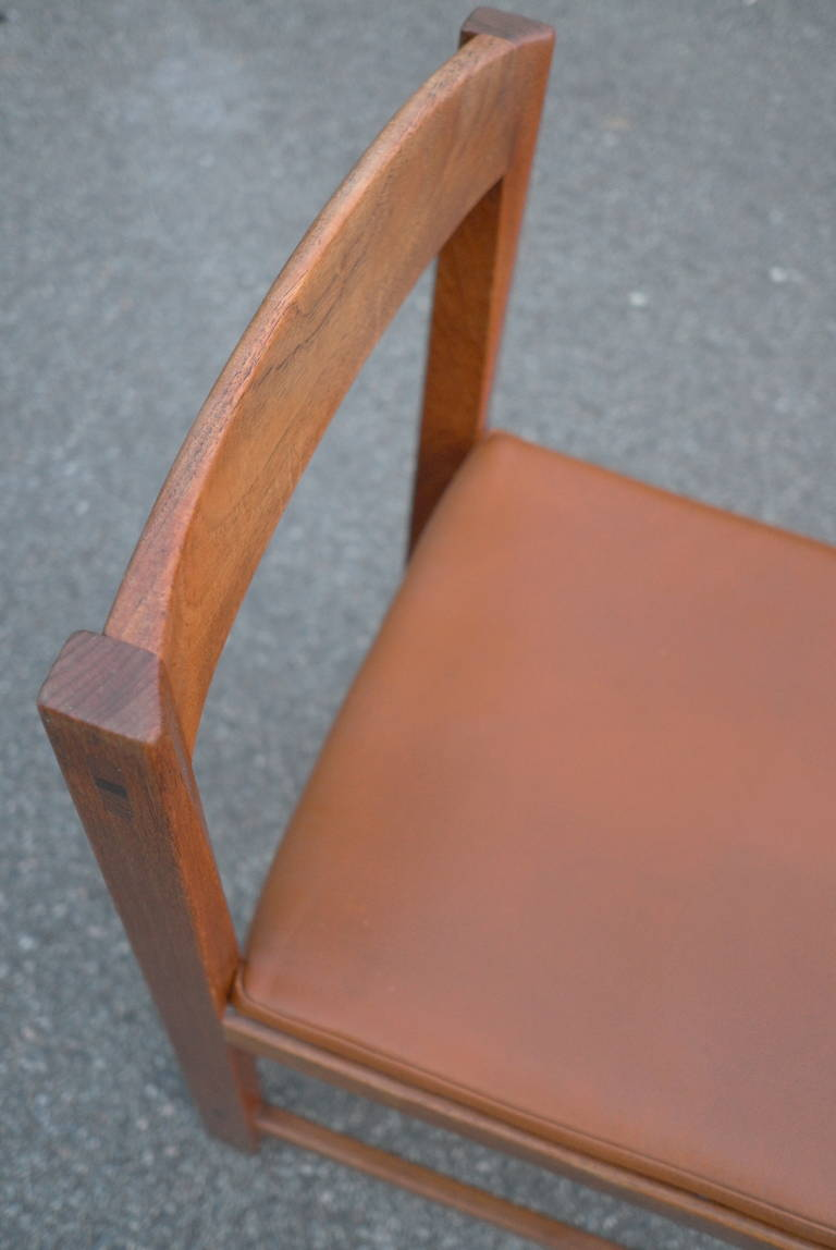 ten swedish well crafted dark teak dining chairs for sale at 1stdibs