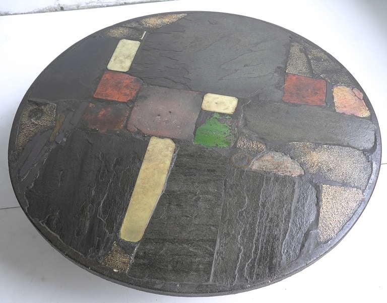 Large Paul Kingma Art Coffee Table 2