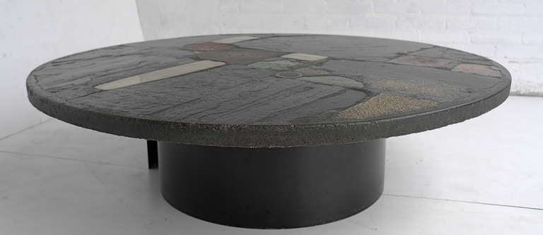 Large Paul Kingma Art Coffee Table 8