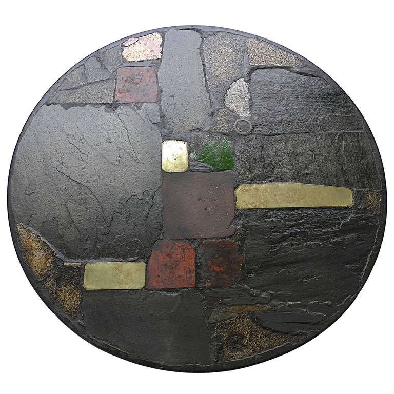 Large Paul Kingma Art Coffee Table 1