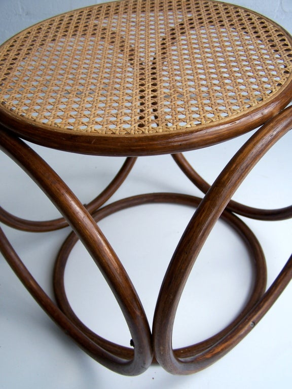 Mid-20th Century Michael Thonet Stool For Sale