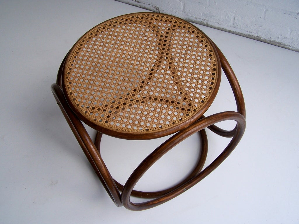Wood Michael Thonet Stool For Sale