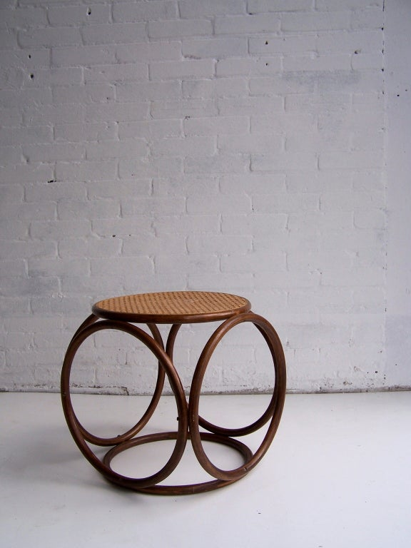 Michael Thonet Stool For Sale 1