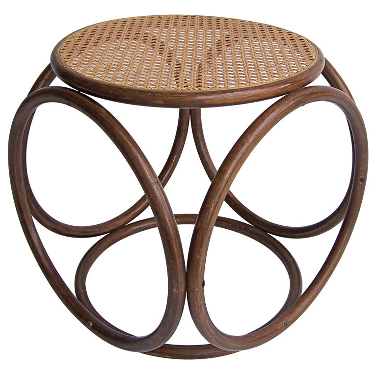 Michael Thonet Stool At 1stdibs