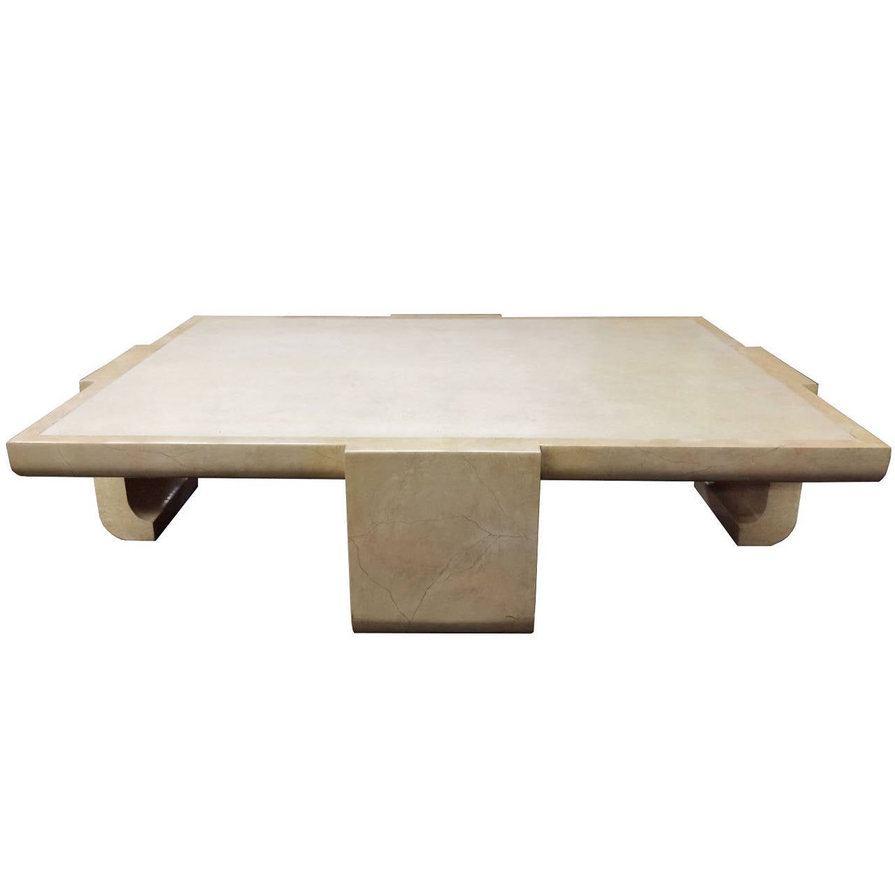 Monumental Asian Inspired Coffee Table By Alessandro For Baker At 1stdibs
