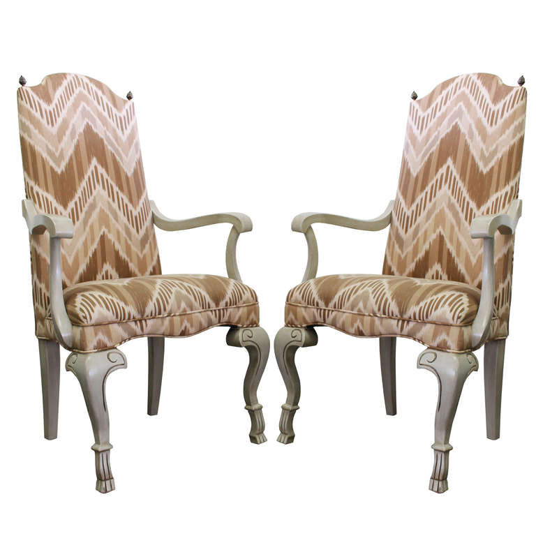 Pair of Ikat Armchairs For Sale at 1stdibs : IkatChairs1l from www.1stdibs.com size 768 x 768 jpeg 54kB