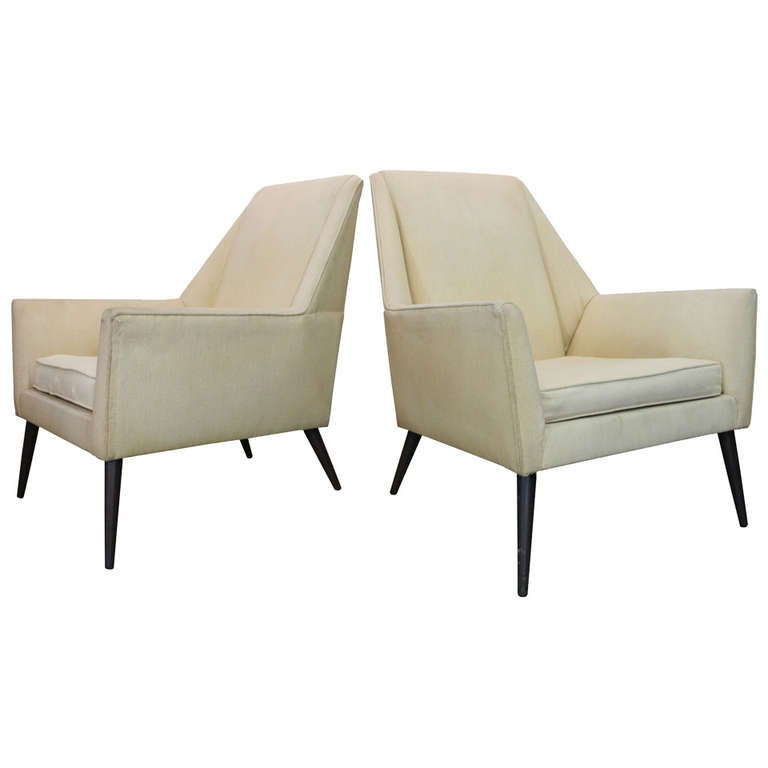 Paul McCobb Lounge Chairs For Sale at 1stdibs