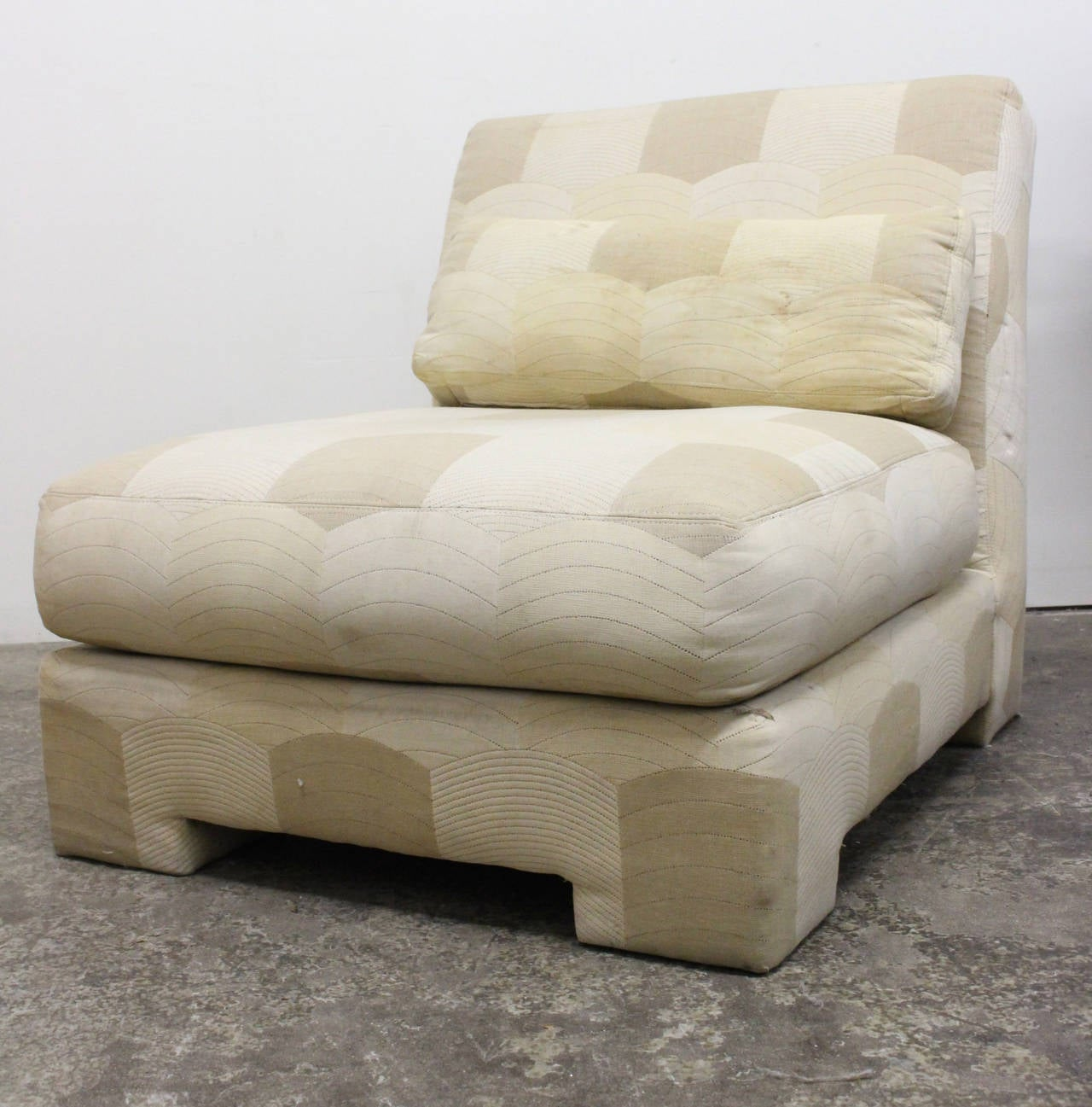 American Pair of Slipper Lounge Chairs by Milo Baughman for Thayer Coggin For Sale