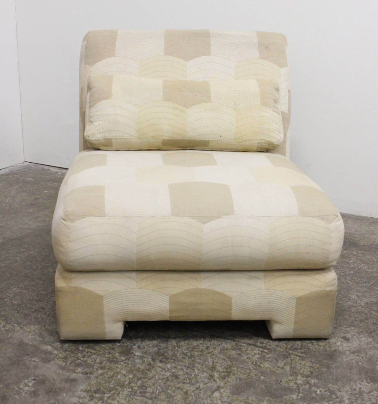 Pair of Slipper Lounge Chairs by Milo Baughman for Thayer Coggin In Good Condition For Sale In Dallas, TX