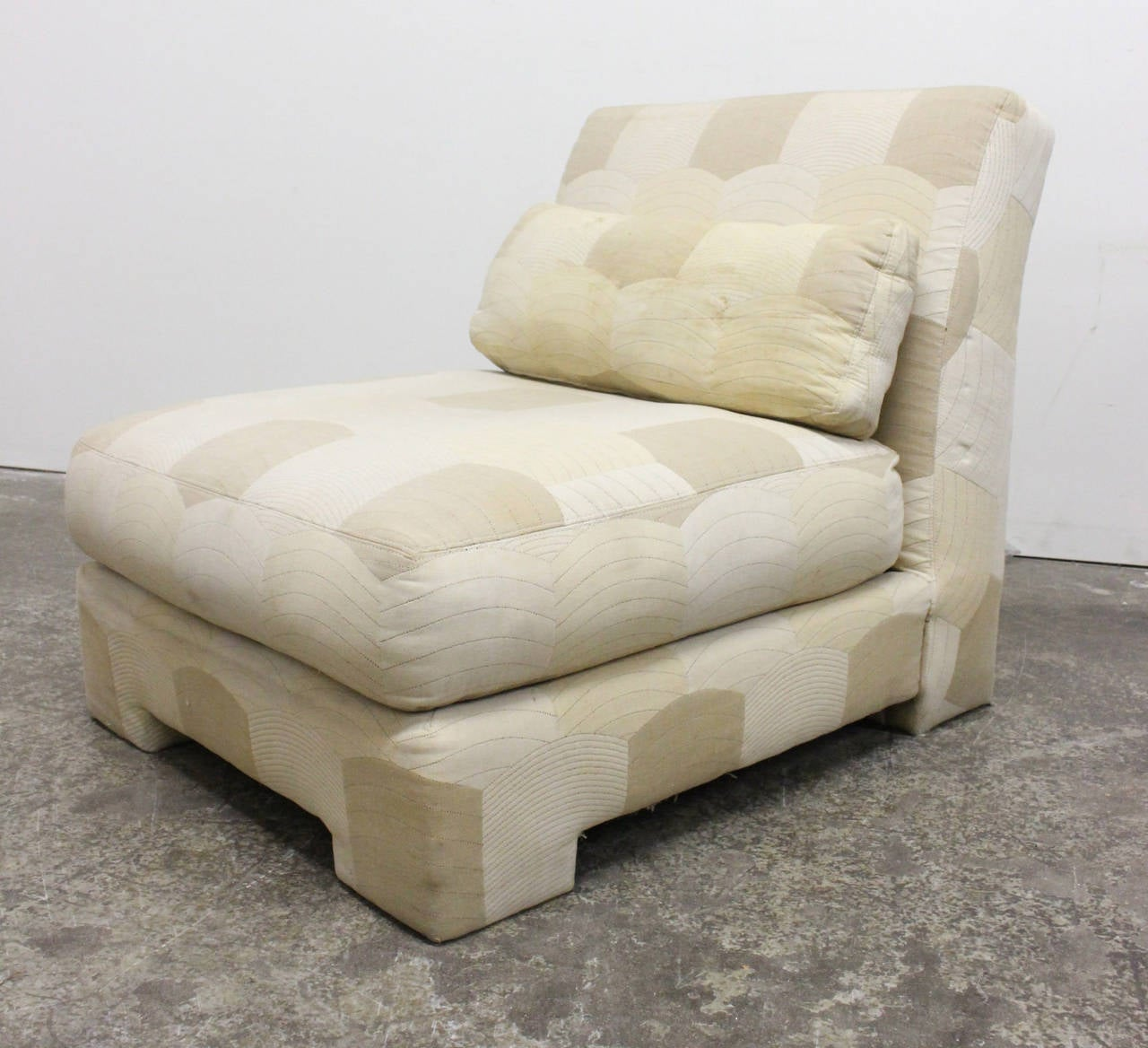 20th Century Pair of Slipper Lounge Chairs by Milo Baughman for Thayer Coggin For Sale