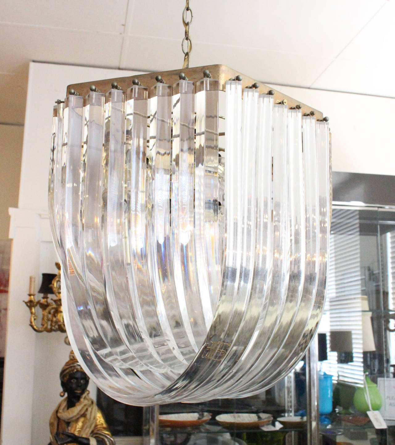 loop monumental lights large luicute chandelier candy for org at ribbon furniture id f lighting pendant lucite l sale chandeliers