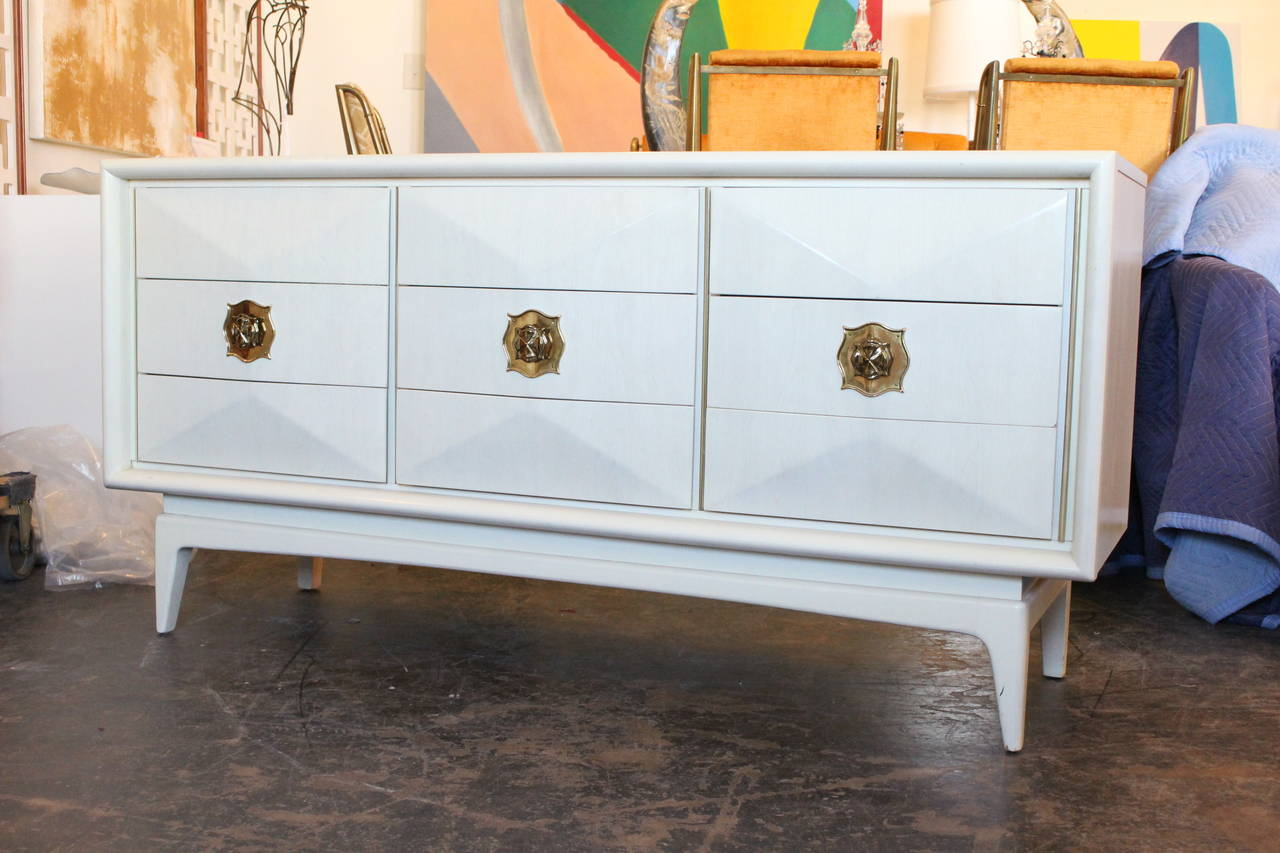 Diamond Front Dresser By United Furniture At 1stdibs