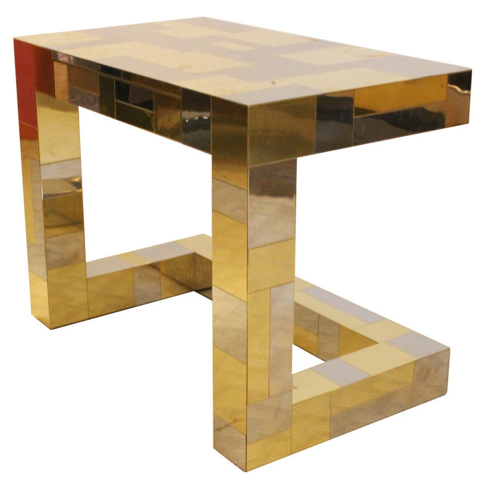 Paul Evans Cityscape Console Nightstand at 1stdibs