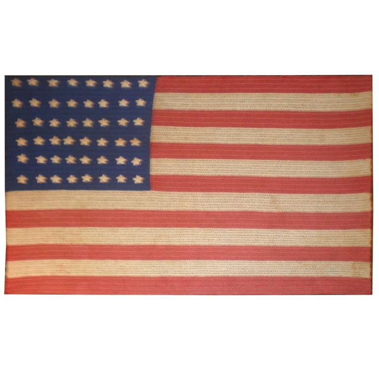 48 Star American Flag at 1stdibs