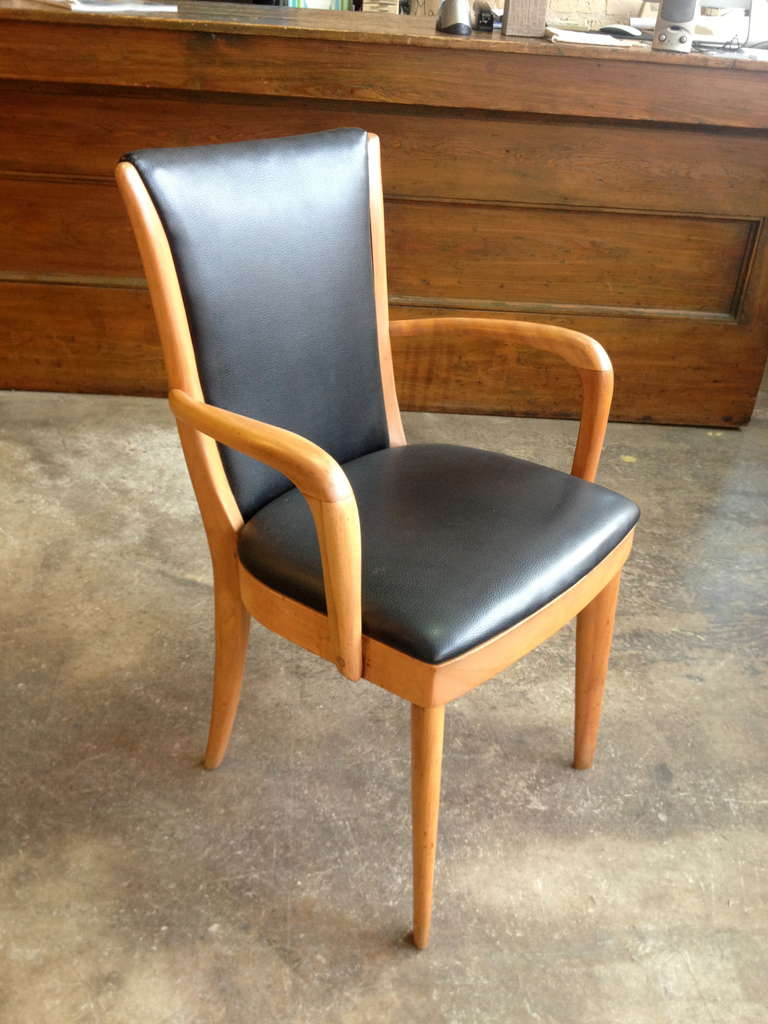 Set of Eight 1940s Heywood Wakefield Chairs at 1stdibs