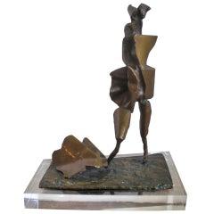 Modernist Bronze Sculpture by Abbott Pattison