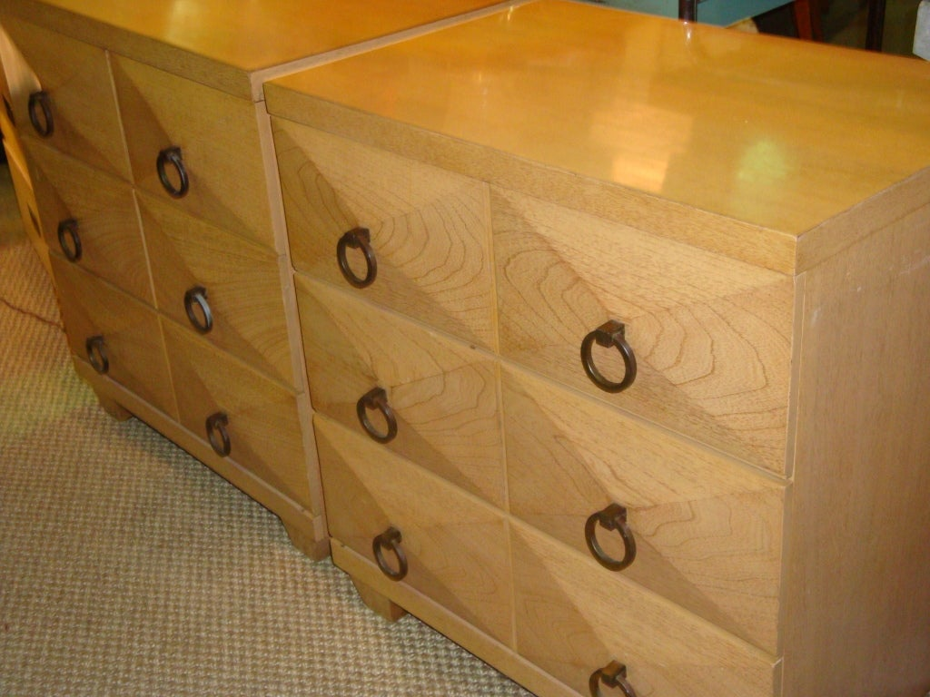 Pair Of Chests By Albert Furniture Co At 1stdibs