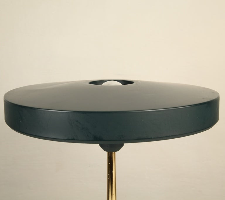 Large 1950's Louis Kalff Table Or Desk Lamp For Philips at ...