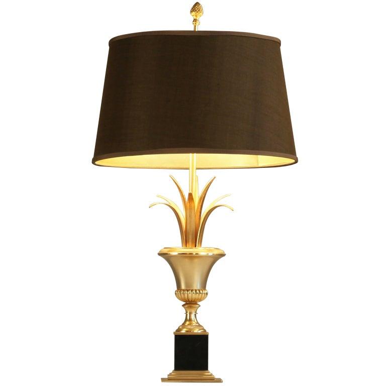 Xxx brass gold table lamp - Zara home lamparas mesilla ...