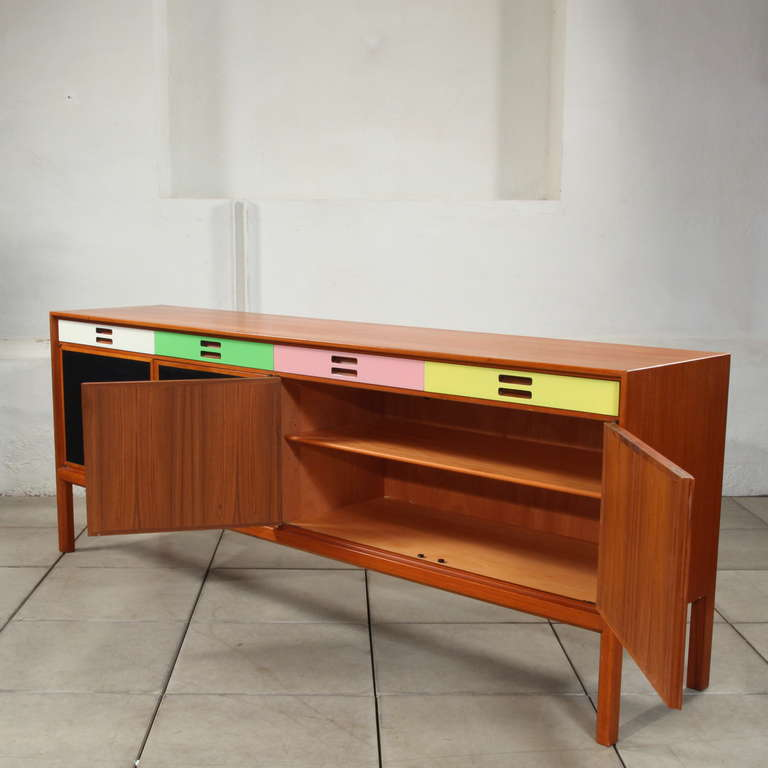 Stunning xl scandinavian sideboard by bodafors at 1stdibs for Sideboard xl