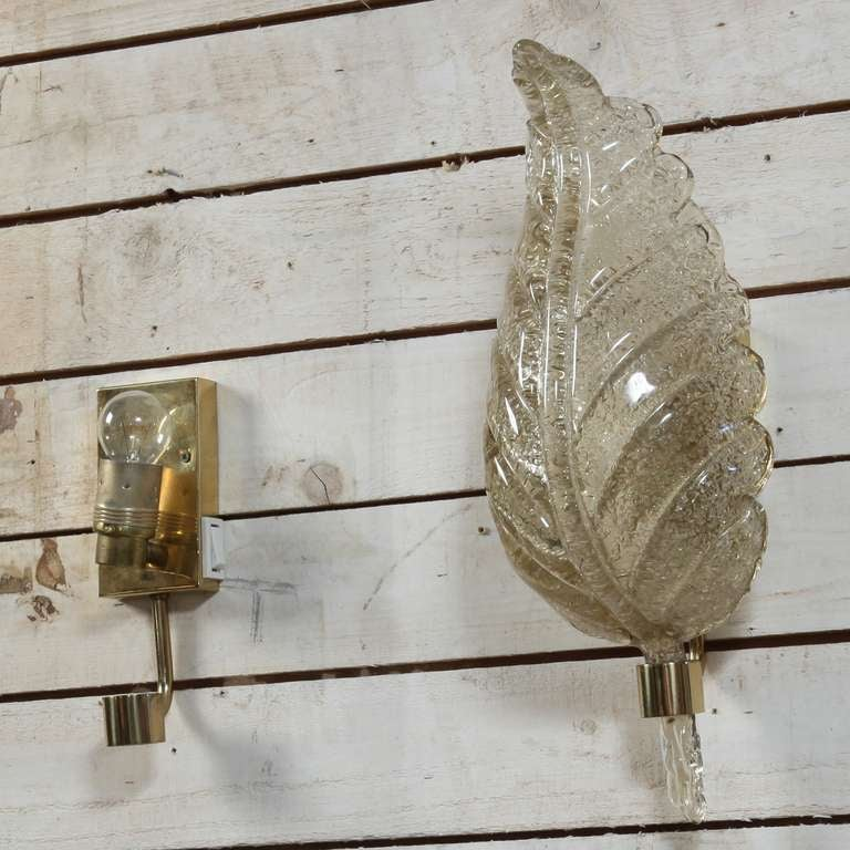 Wall Sconces High End : Pair Of High End Barovier Toso Wall Appliques/bed Lamps at 1stdibs