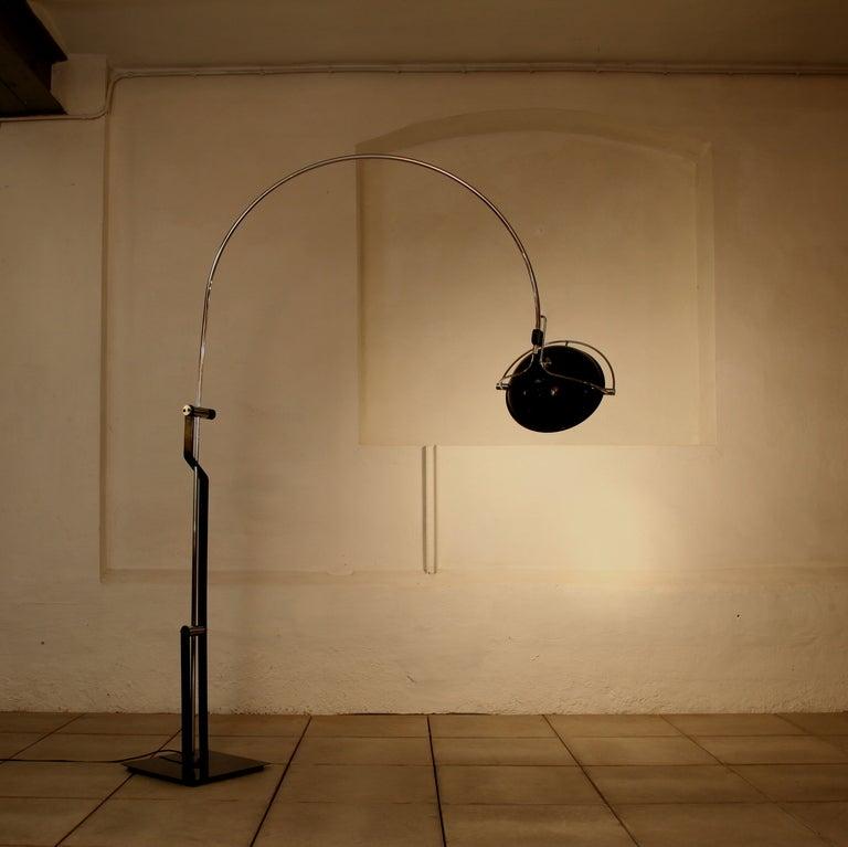 Multi Functional Arc Floor Lamp At 1stdibs