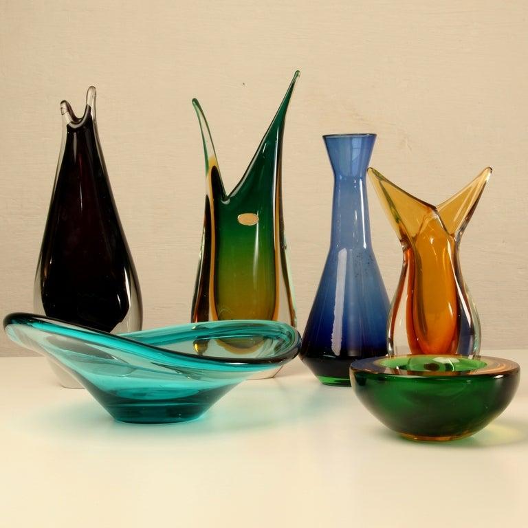 Murano Vase Images Seguso Murano Vase /bowls