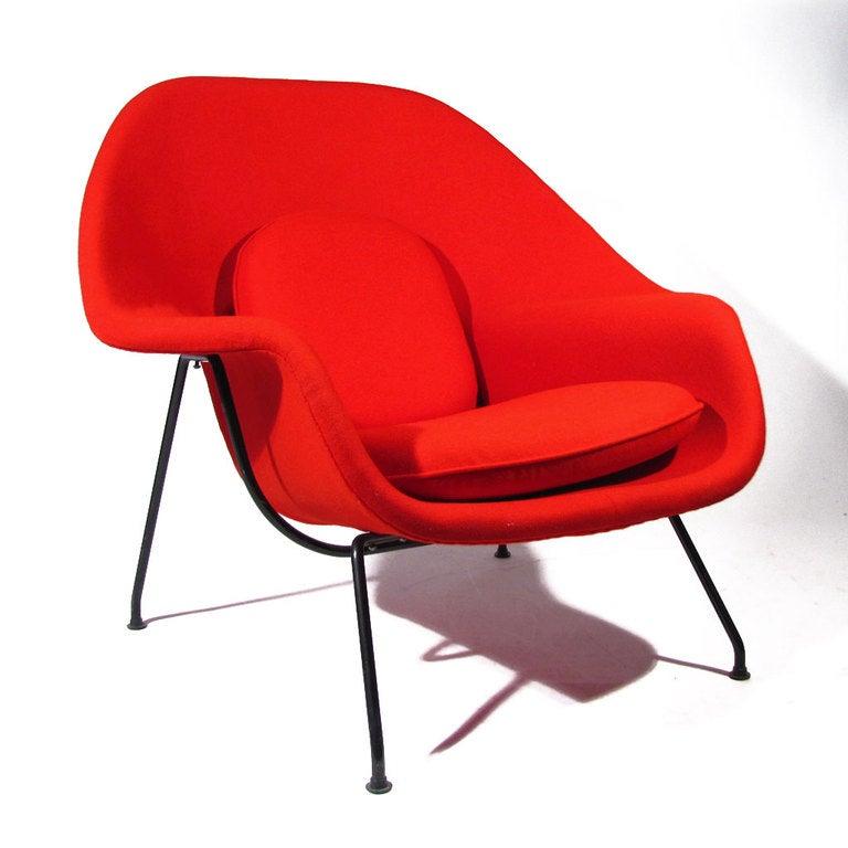 Eero Saarinen Womb Chair At 1stdibs