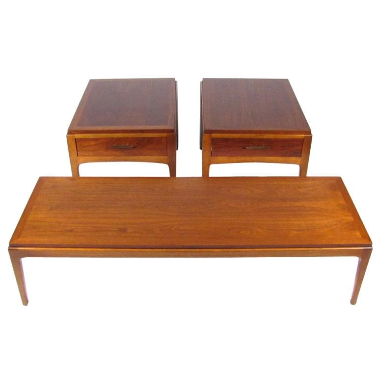 Lane Burl Wood Coffee Table: Mid-Century Tables At 1stdibs