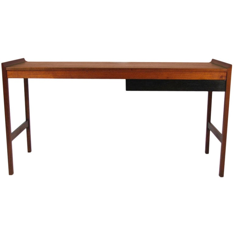 Minimalist walnut desk at 1stdibs for Minimalist desk