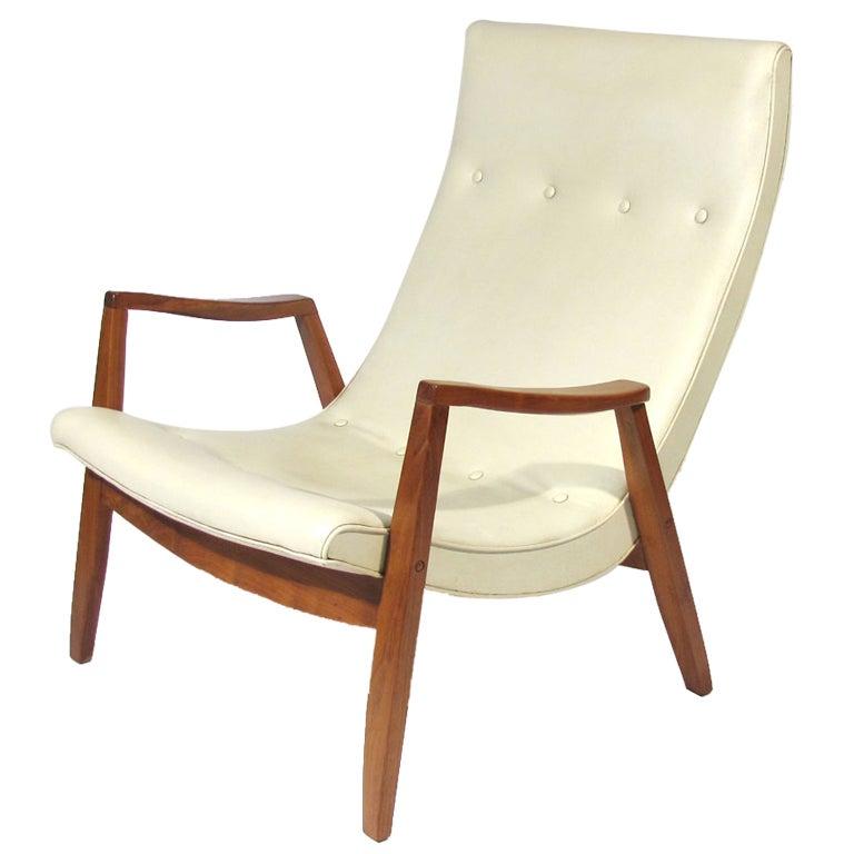 Milo Baughman Chair at 1stdibs