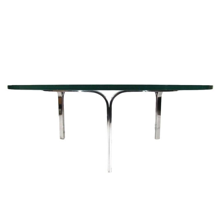 Nicos Zographos Table at 1stdibs : XXXChromeGlassCoffeeTable2 from www.1stdibs.com size 768 x 768 jpeg 12kB