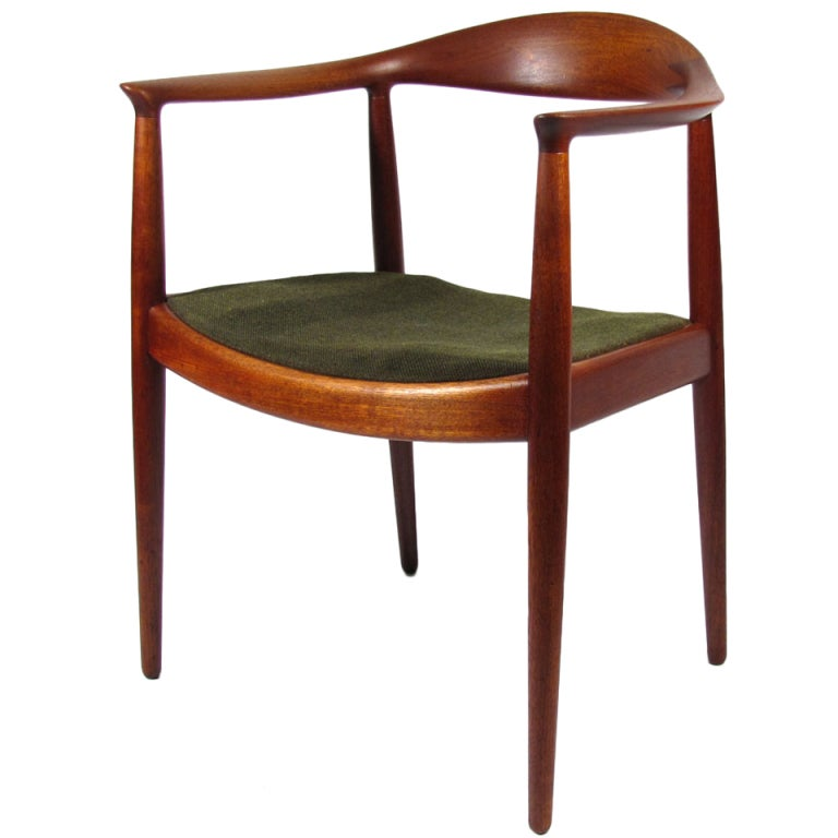 Hans Wegner Quot The Chair Quot At 1stdibs