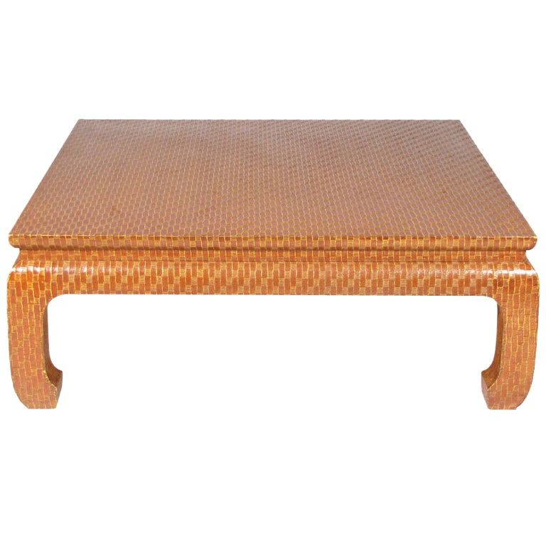 baker grass coffee table at 1stdibs