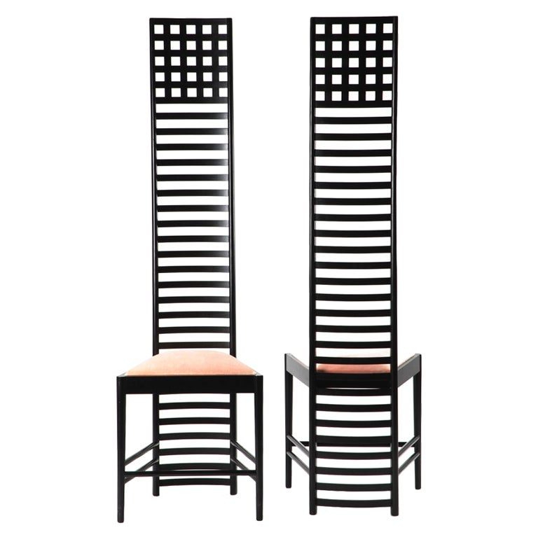 charles mackintosh chairs at 1stdibs