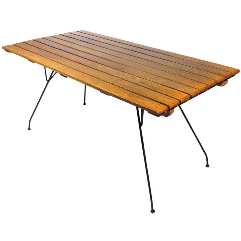 Arthur Umanoff Table At 1stdibs
