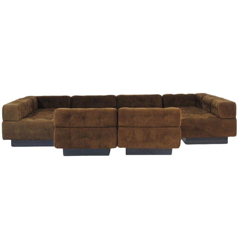 Harvery Probber 10 Piece Sofa At 1stdibs