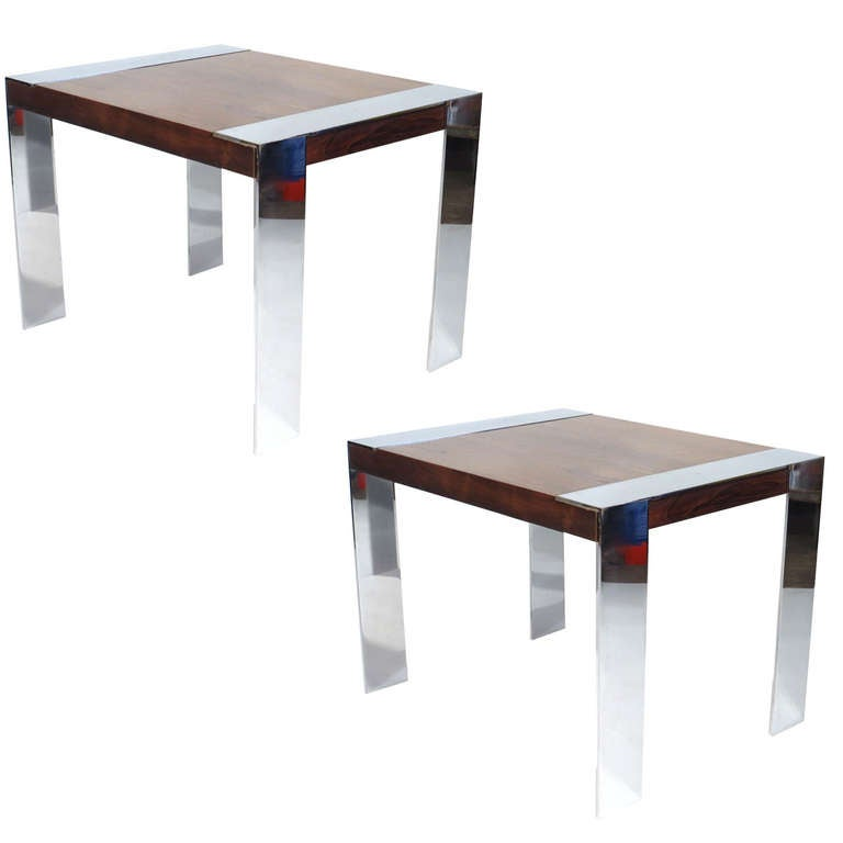 Milo Baughman Tables At 1stdibs