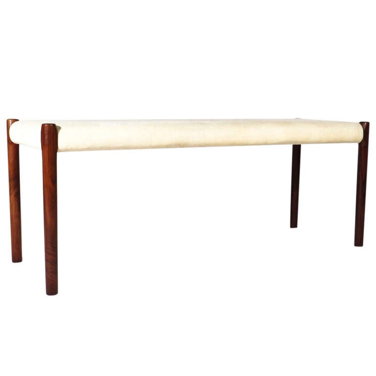 Moller Rosewood Bench At 1stdibs