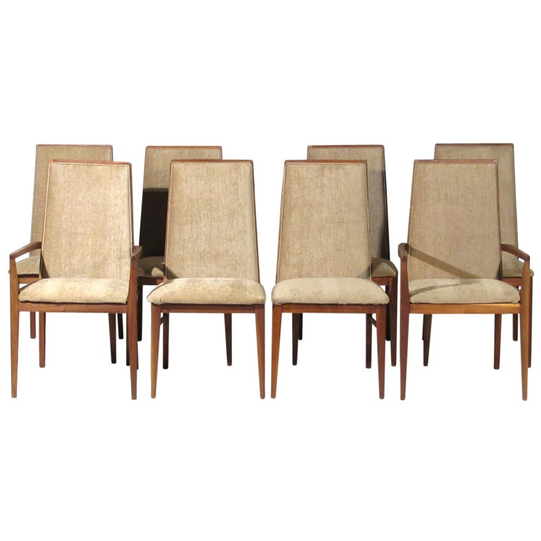 eight dillingham dining chairs at 1stdibs