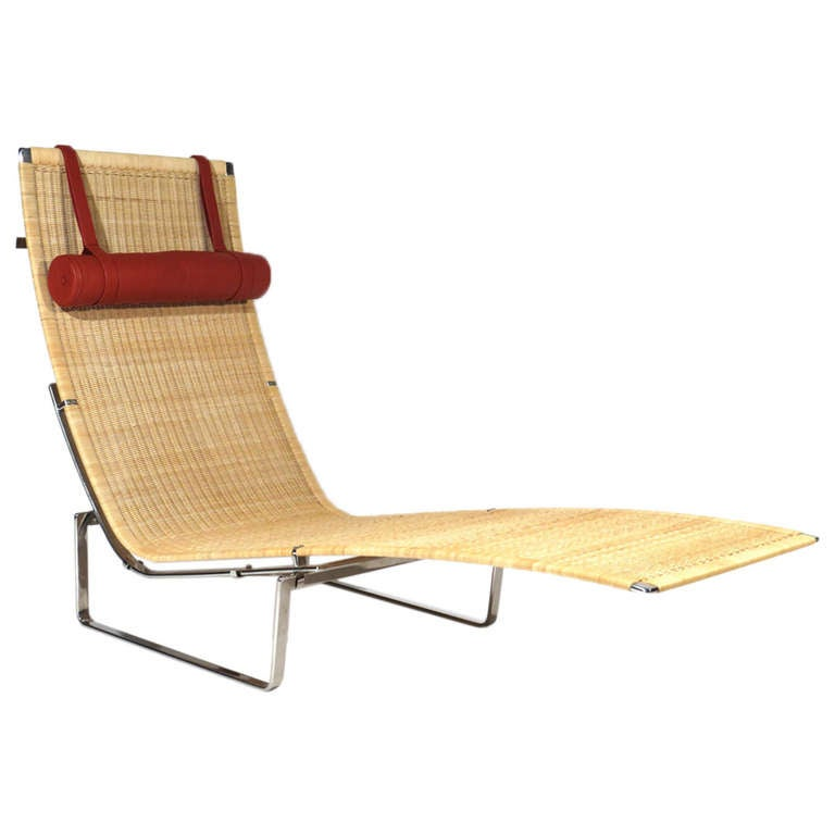 Poul kjaerholm chaise longue at 1stdibs for Chaise interiors inc