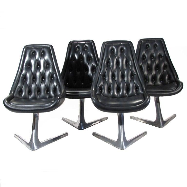 Chromcraft Sculpta Chairs At 1stdibs