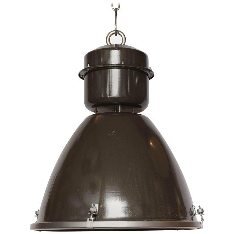 Czechoslovakian Pendant Light For Sale