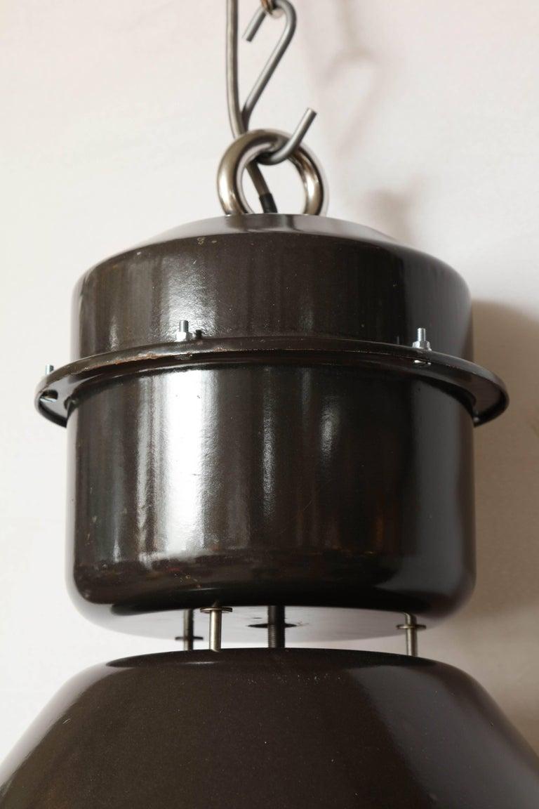 Czechoslovakian Pendant Light For Sale 6