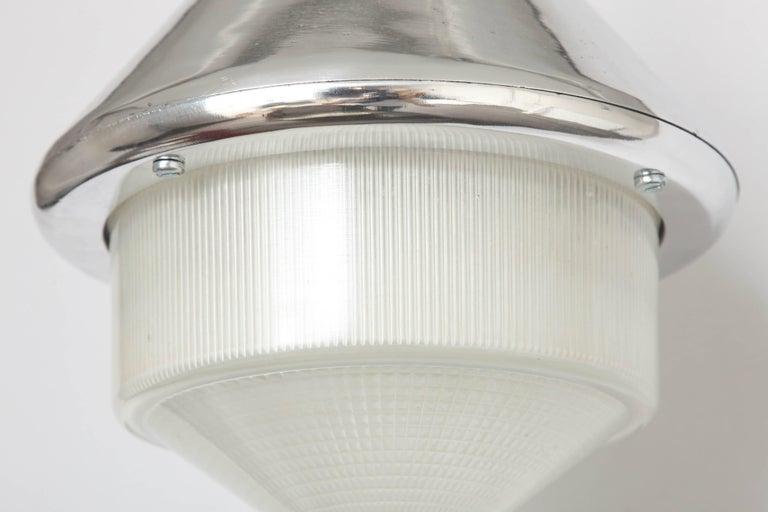 Aluminum Rare Wartime Welsh Pantry Lights For Sale